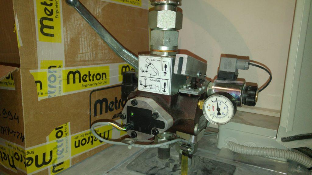 Ηλεκτρονική βαλβίδα bucher i valve.
